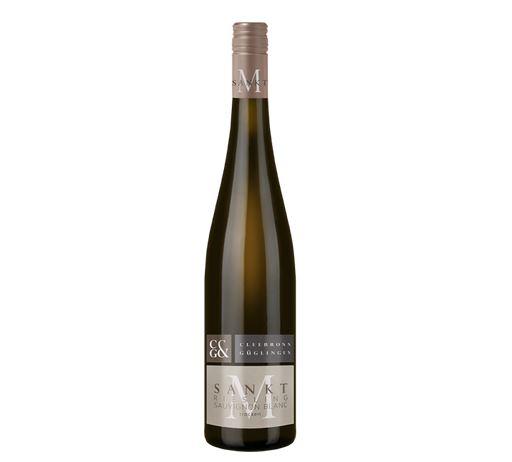 Sankt M Riesling mit Sauvignon Blanc trocken, Weingärtner Cleebronn-Güglingen eG