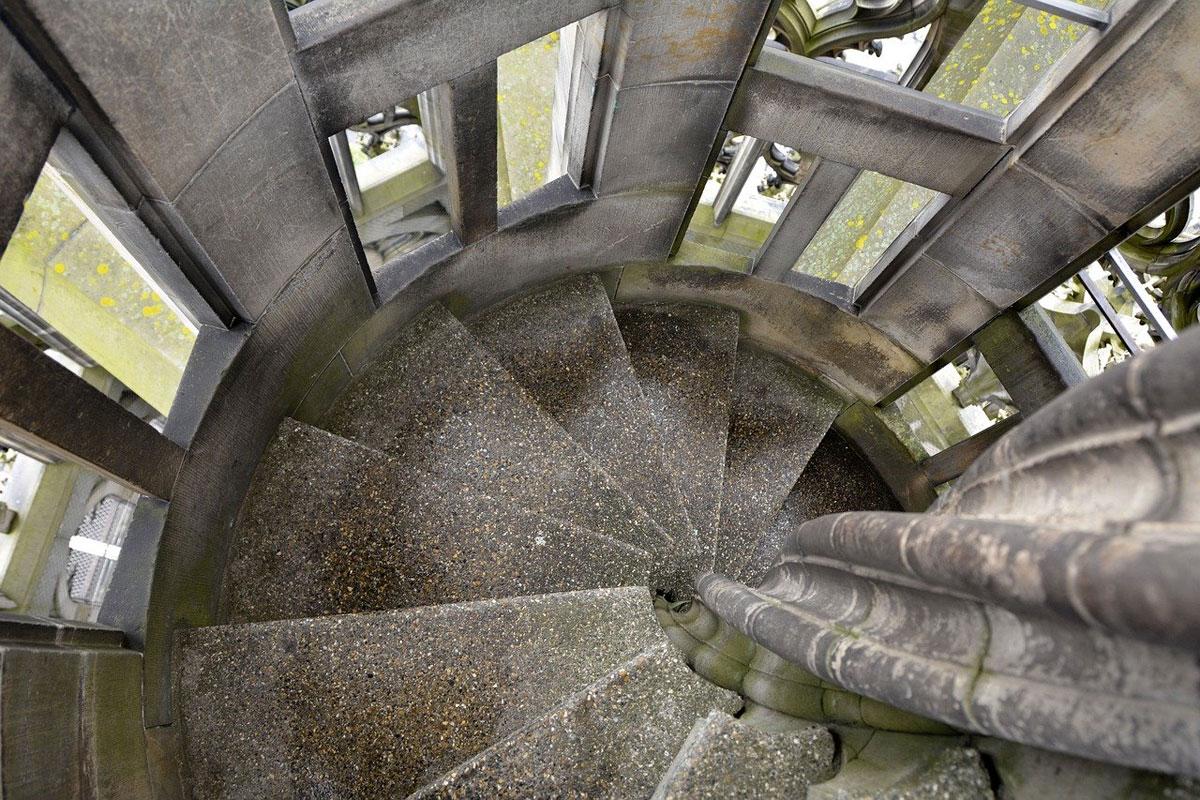 Ulmer Münster Treppe - Ulm