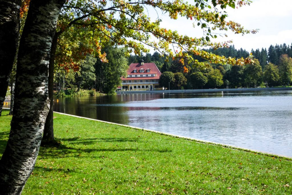 Außenansicht, Hotel Waldsee