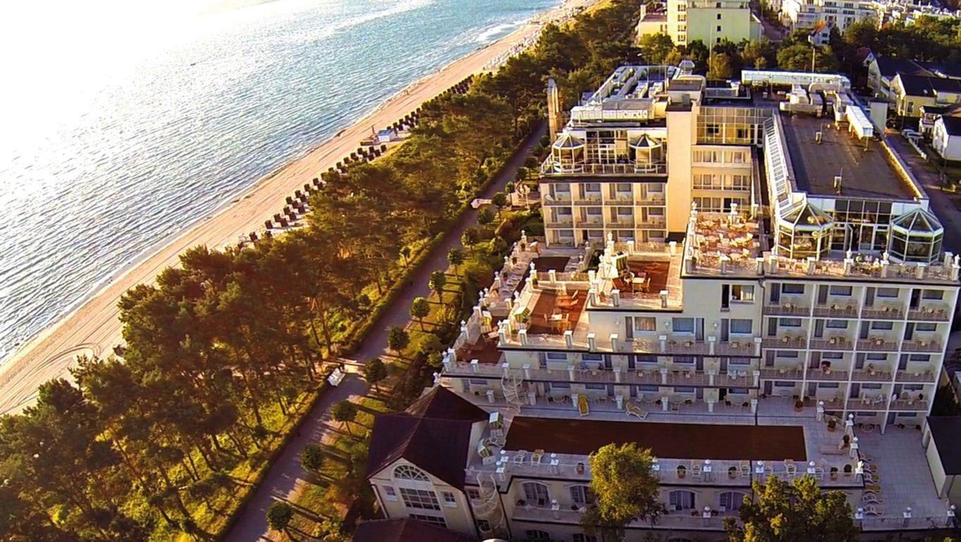 Außenansicht, Rugard Strandhotel