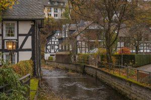 Historischer Ortskern von Oberkirchen, Schmallenberg, Sauerland - Lenneroute