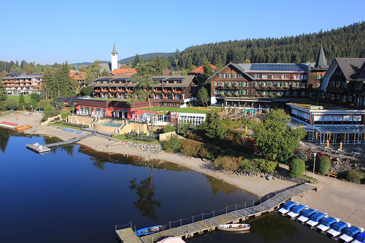 Außenansicht, Treschers Schwarzwald Romantik Hotel