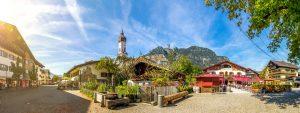 Garmisch-Partenkirchen, Panorama - Spitzenwanderweg