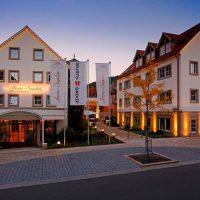 Außenansicht Hotel-Restaurant Anne-Sophie