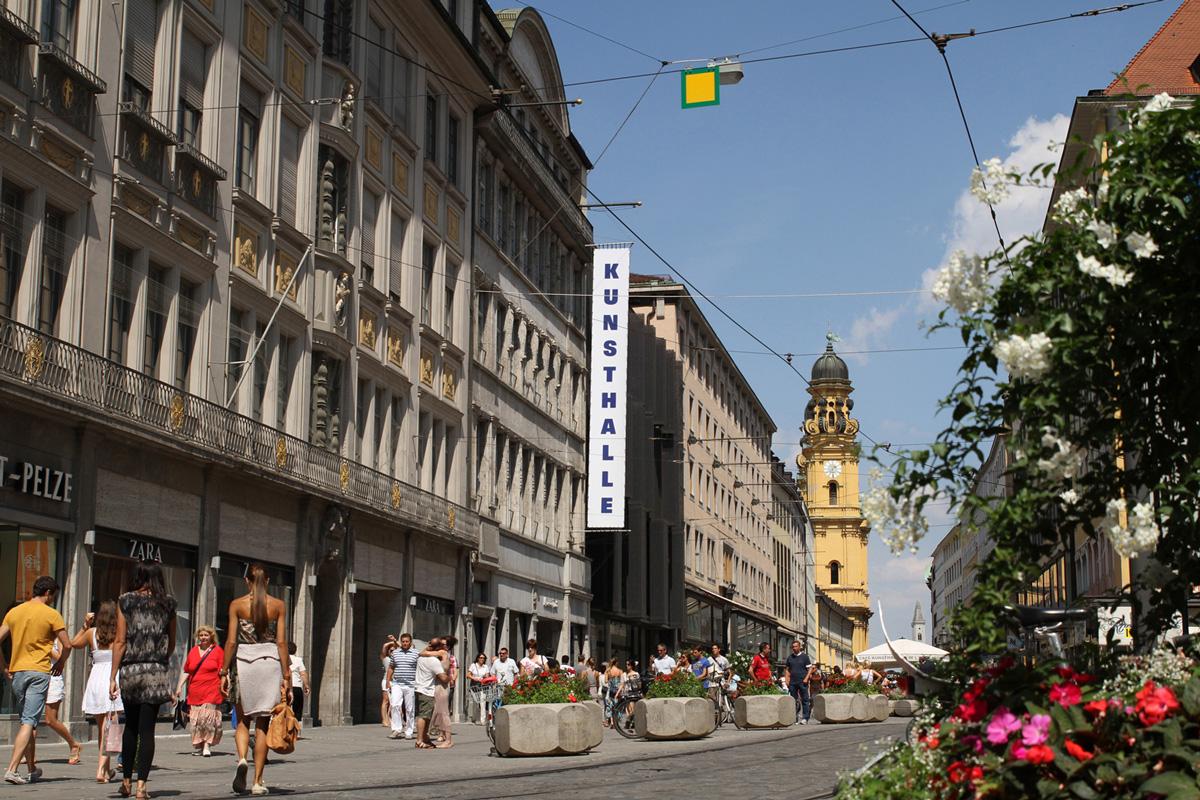 Kunsthalle München Außenansicht