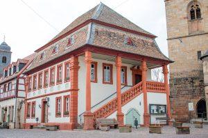 Historisches Rathaus in Freinsheim - Kraut-und-Rüben-Radweg