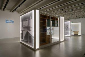 """Blick in die Ausstellung Bereich """"Neuer Alltag"""" - Bauhaus-Museen"""