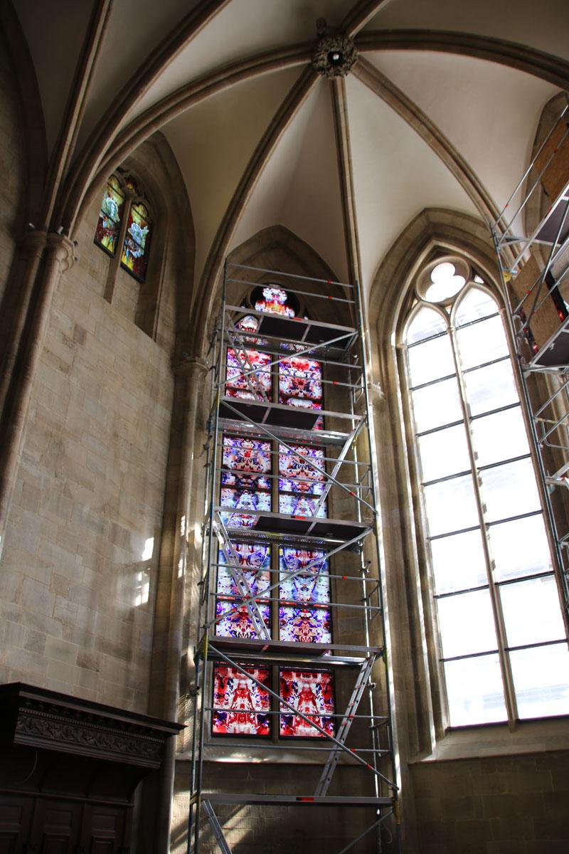 Einbau Richter Fenster