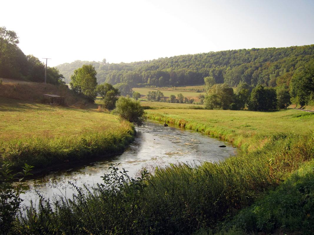 Jagsttal - Kocher-Jagst-Radweg