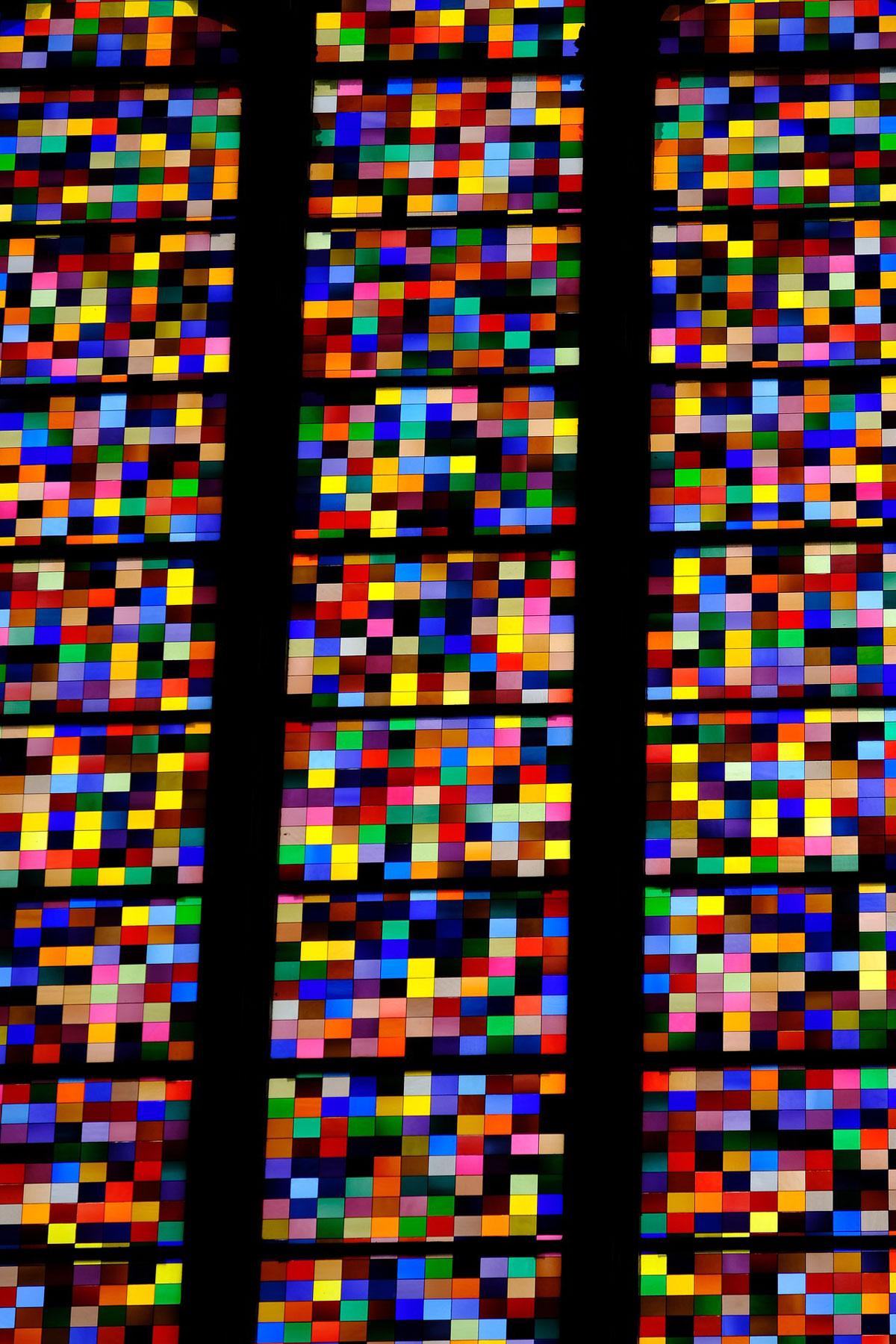 Kirchenfenster Ausschnitt