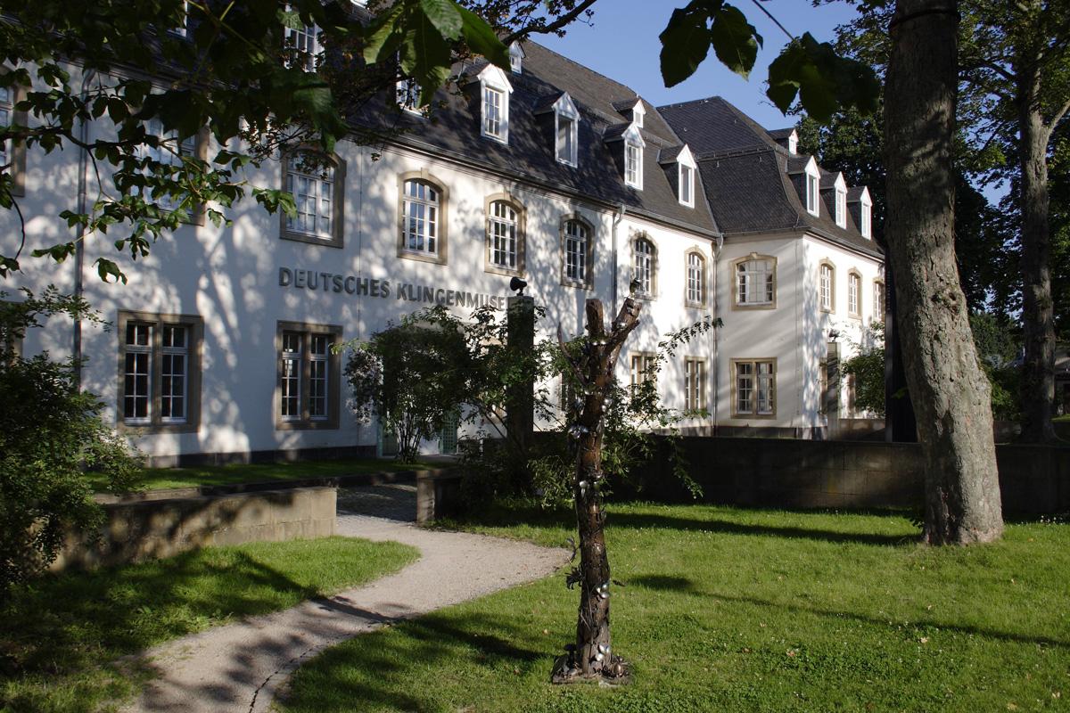 Außenansicht, Deutsches Klingenmuseum Solingen