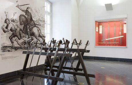 Ausstellung, Raum 17. Jhd., Deutsches Klingenmuseum Solingen