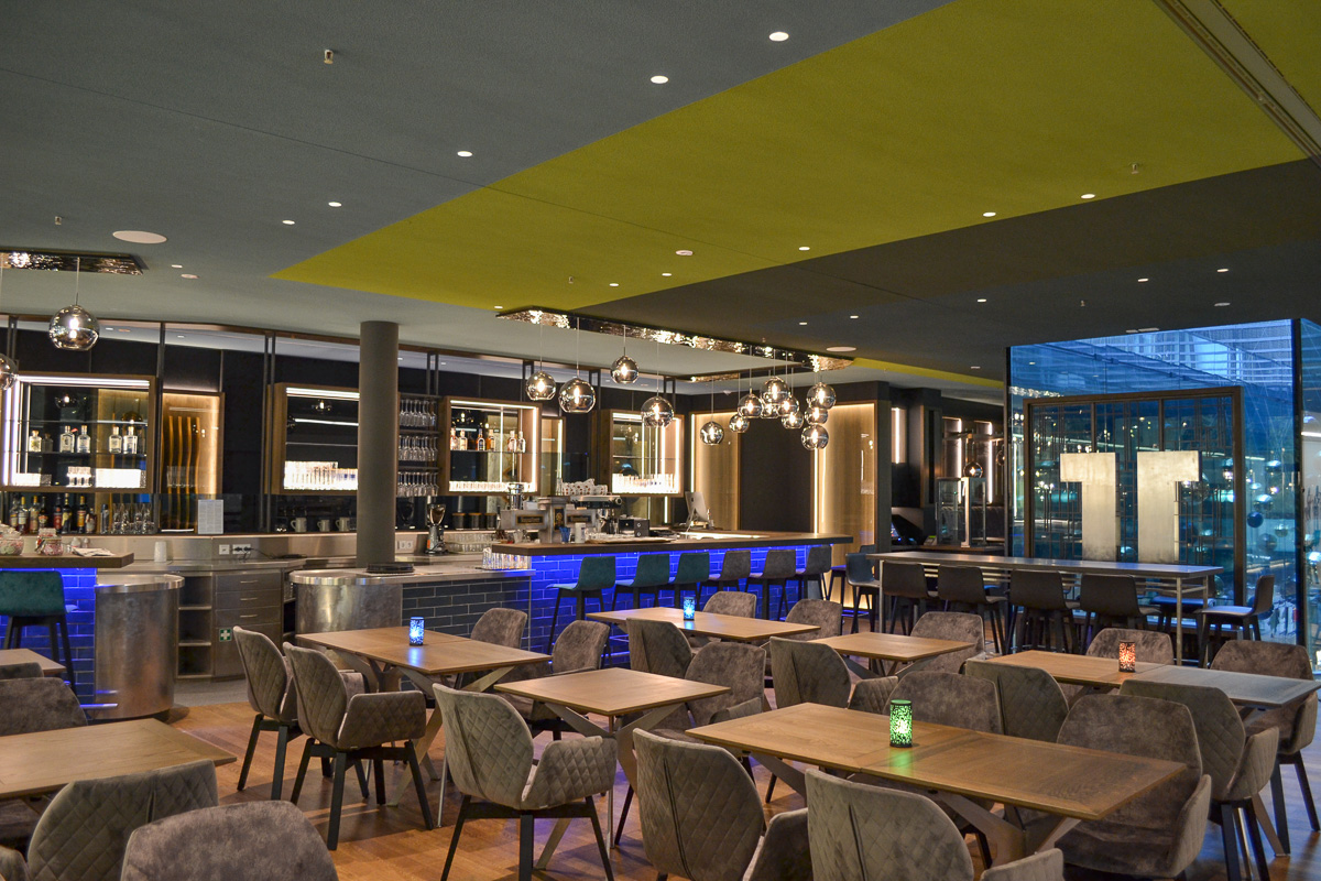 Theatiner 8, Restaurant & Café in der Kunsthalle München