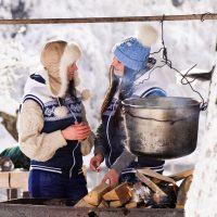 Wintergrillen zu zweit