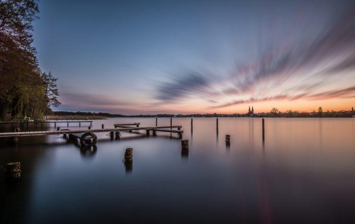 Ruppiner See im Ruppiner Seenland - Radweg Berlin-Kopenhagen