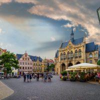 Marktplatz mit Rathaus Erfurt