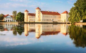 Schloss Rheinsberg, Ruppiner Seenland - Seen-Kultur-Radweg