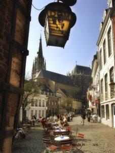 Altstadt Hof in Aachen