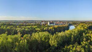 Blick auf Lauingen an der Donau