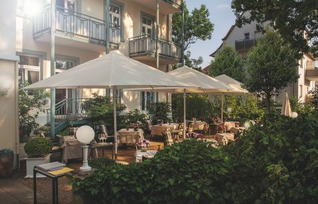 Terrasse Restaurant Laudensacks Parkhotel