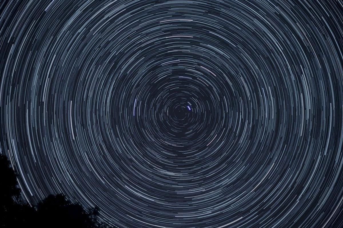 Sterne Rotation