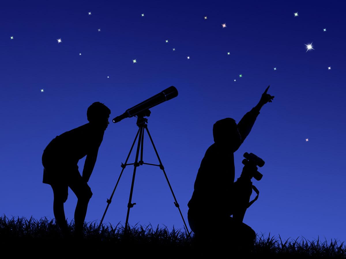 Sterne beobachten - Sternenpark