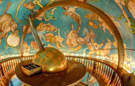 Globus von innen - Schleswiger Museumsinsel