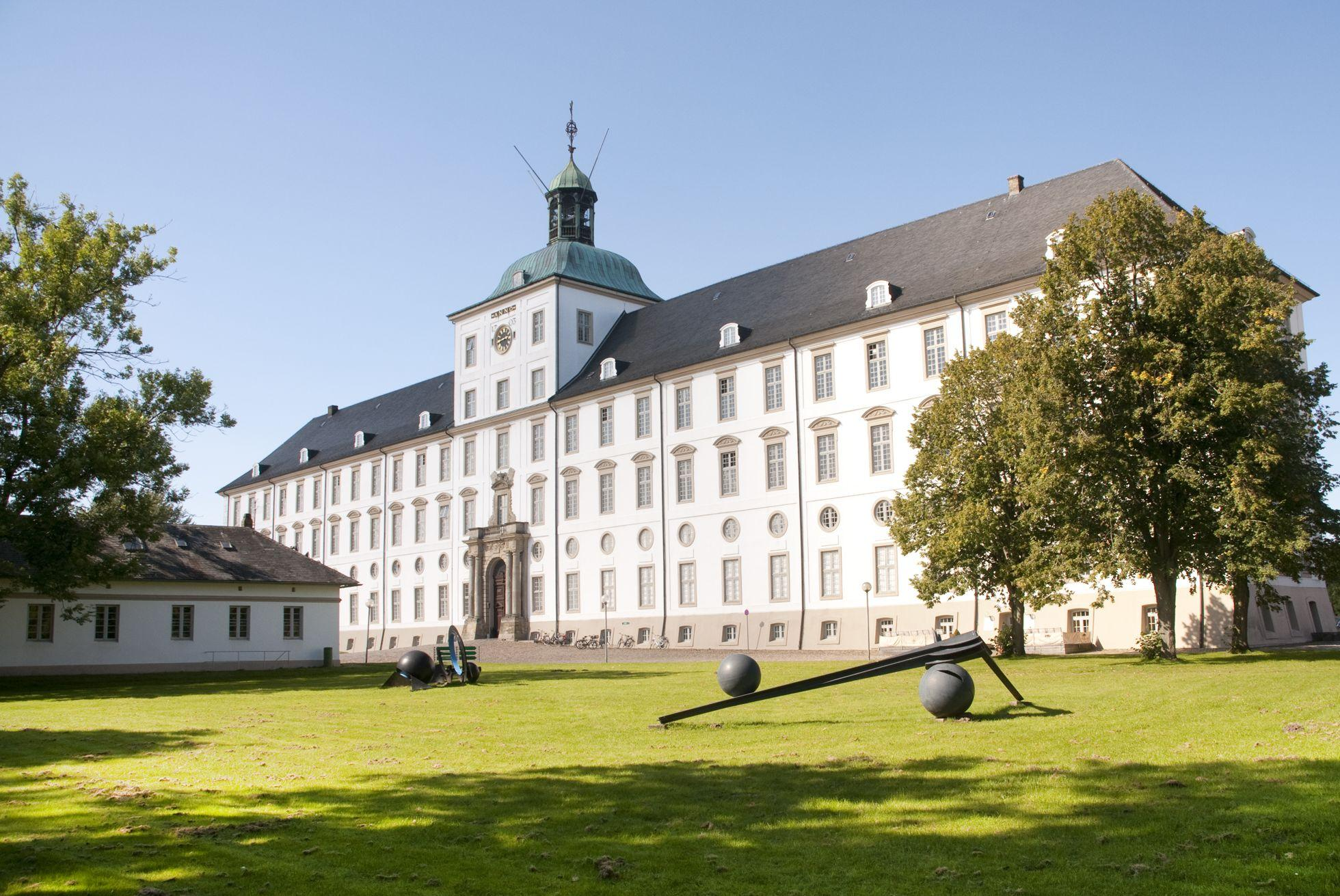 Schloss Gottorf im Sommer