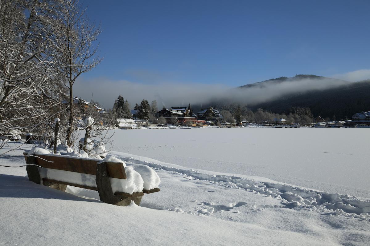 Titisee im Winter - Winterwanderwege im Schwarzwald