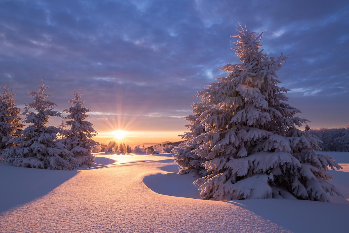 Wintermagie im Erzgebirge - Winterwanderwege im Erzgebirge