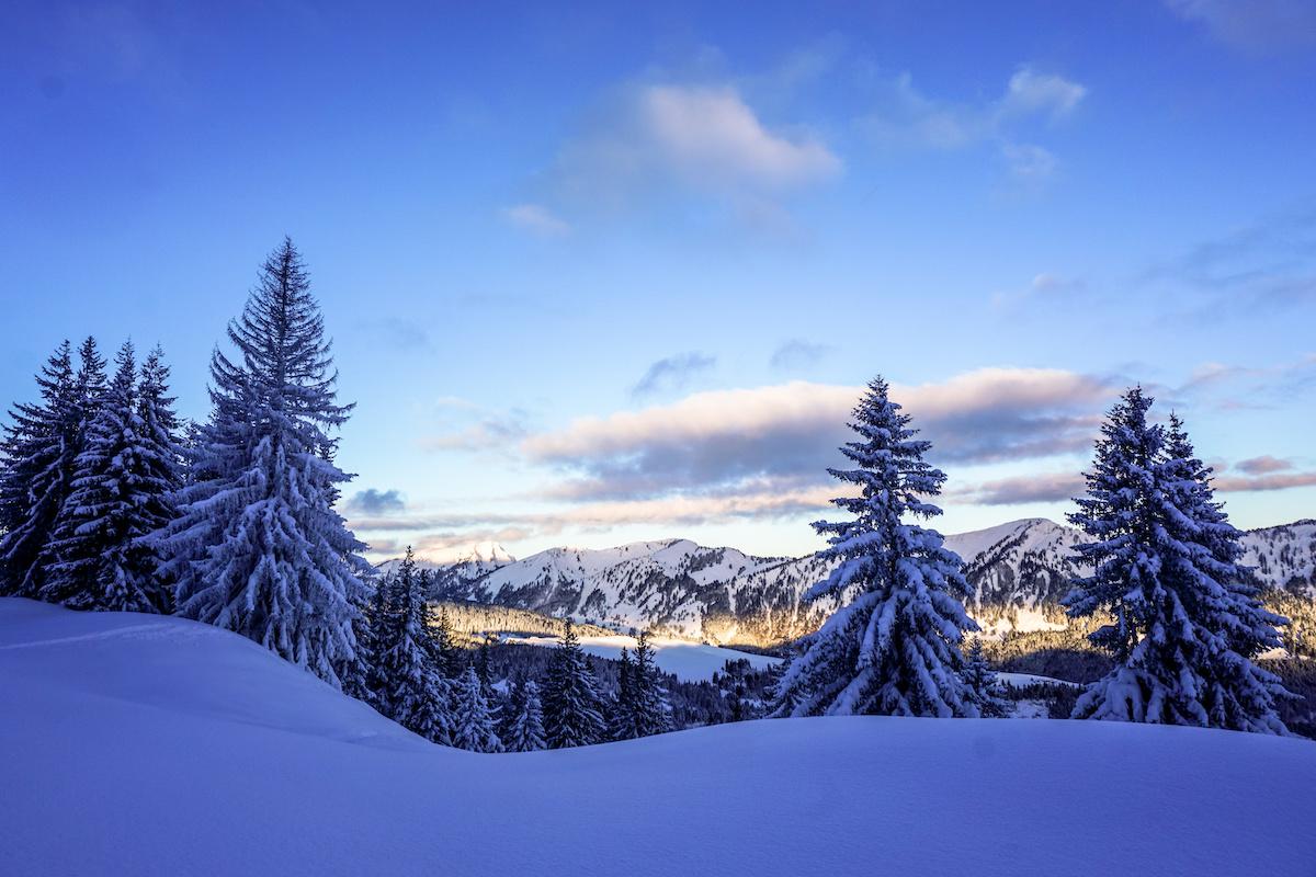 Winter in den Allgäuer Alpen - Winterwanderwege im Allgäu