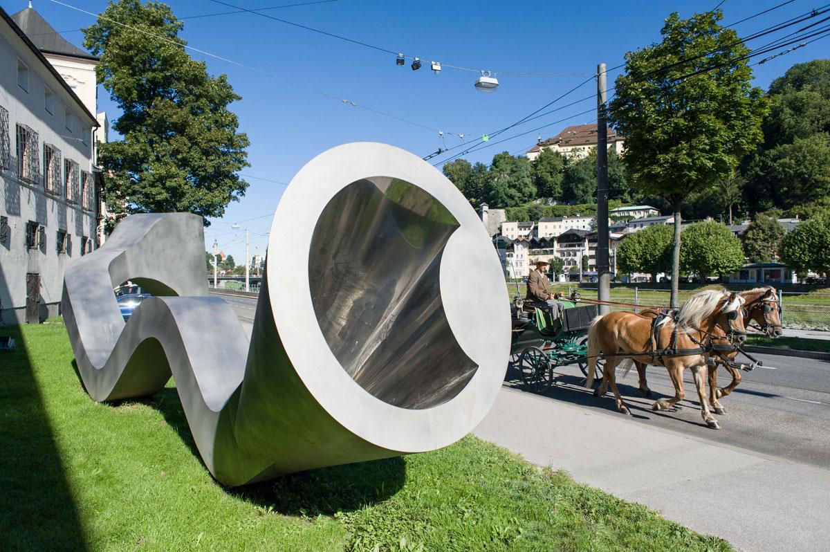 Sommerszene Salzburg