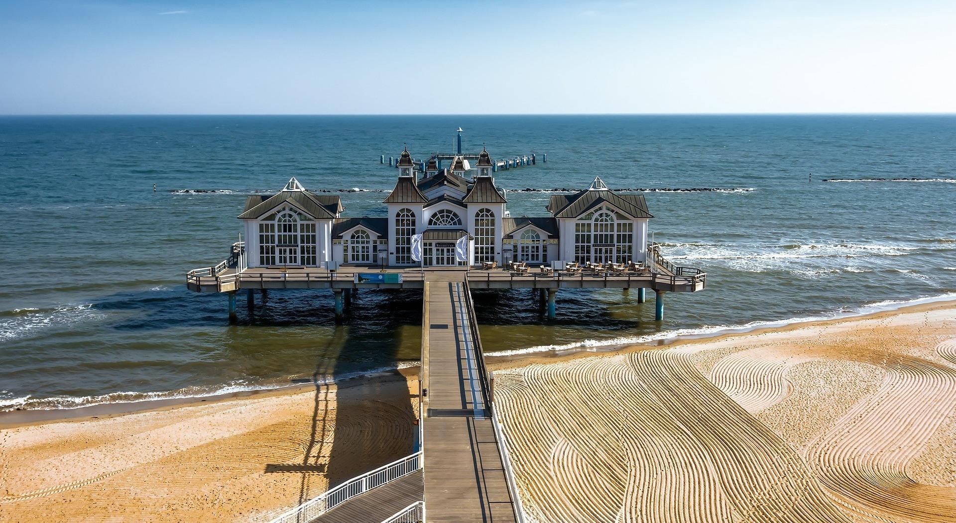 Seebrücke Rügen ©pixabay