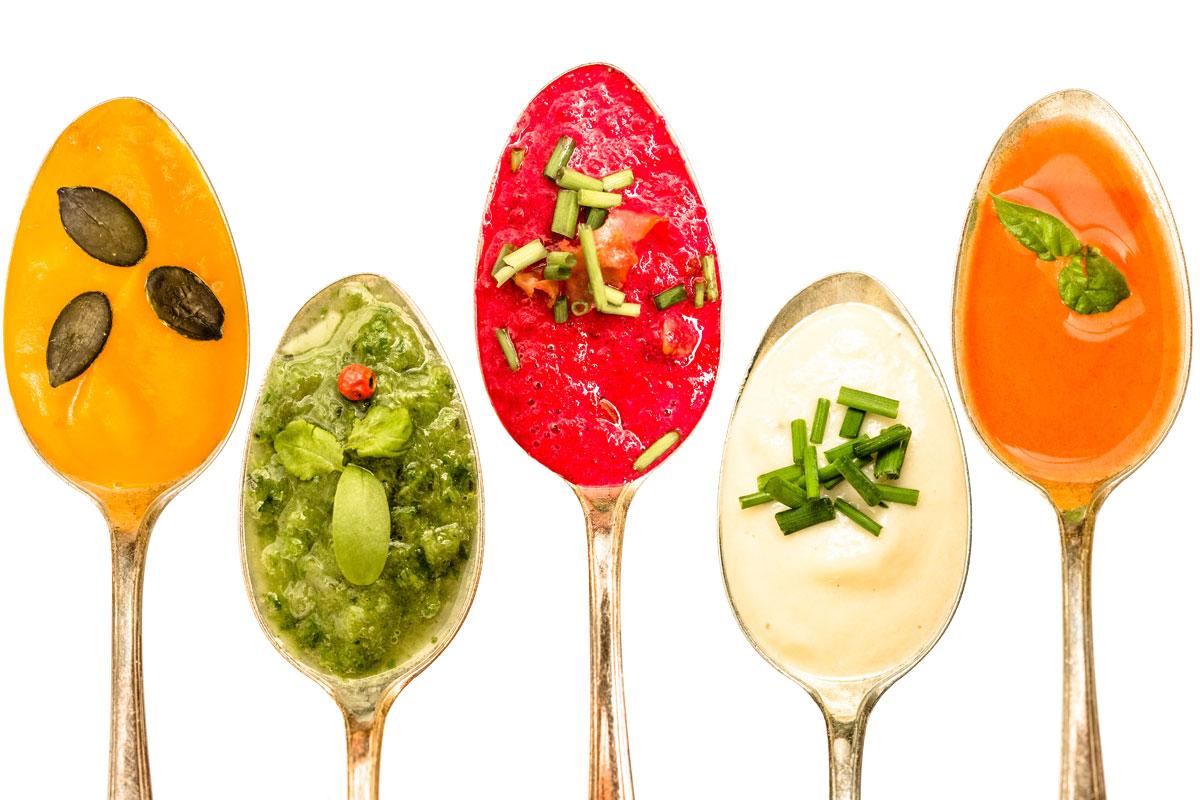 5 coole Suppen für uncoole Tage
