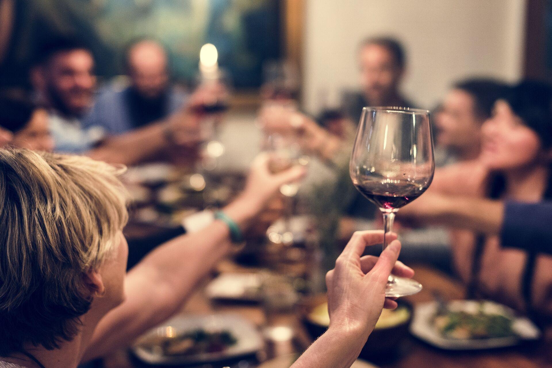 Abendessen mit Freunden - Genussabend