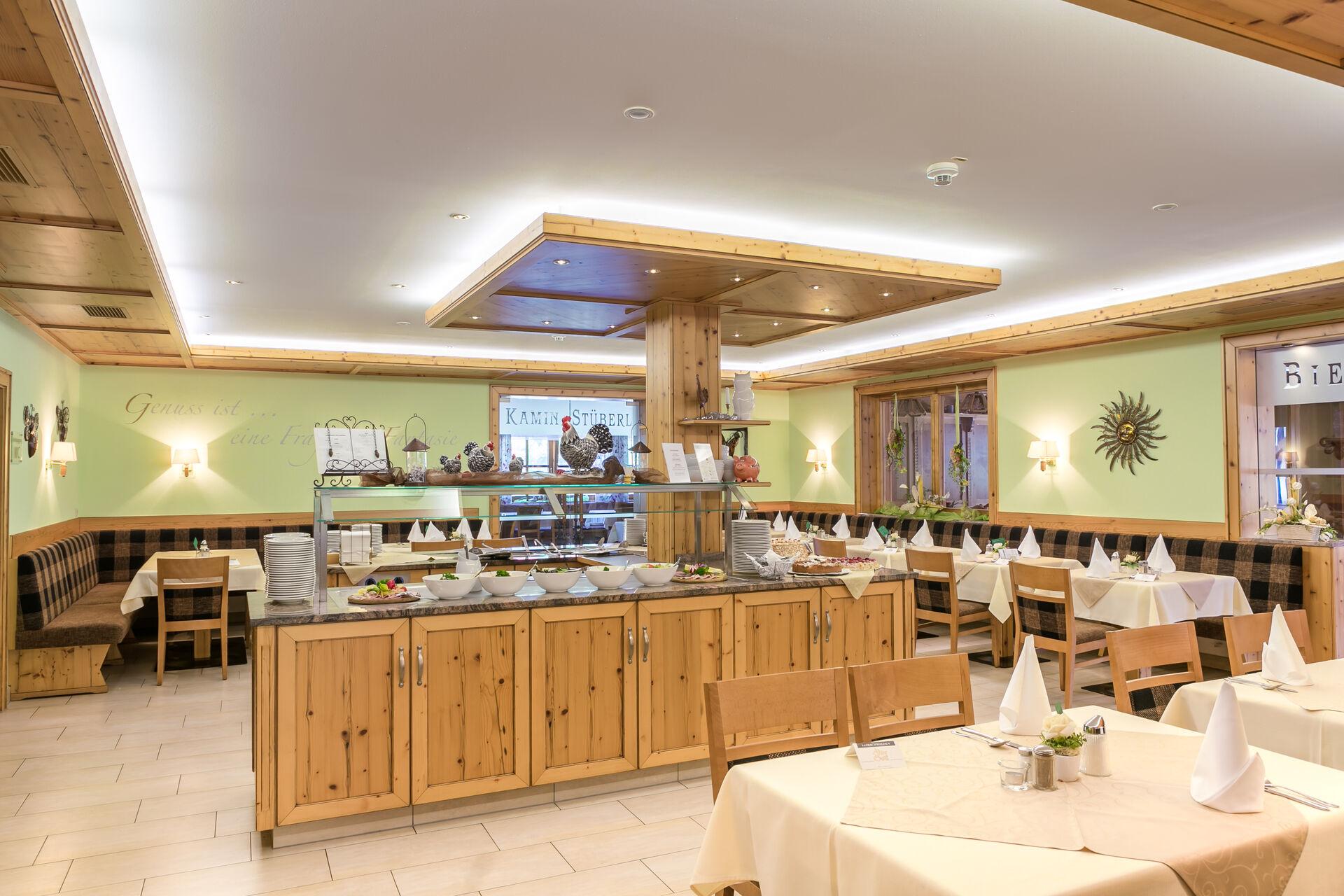 Restaurant im Wellness- und Wohlfühlhotel Waldeck, Bodenmais