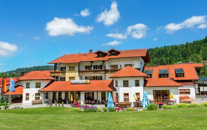 Außenansicht Wellness- und Wohlfühlhotel Waldeck, Bodenmais