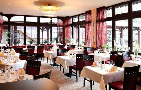 Burghotel zu Strausberg, Restaurant
