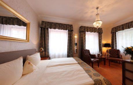 Burghotel zu Strausberg, Zimmer