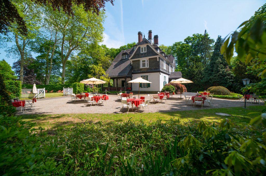 Cottage meets Biergarten im Schlosshotel Kronberg