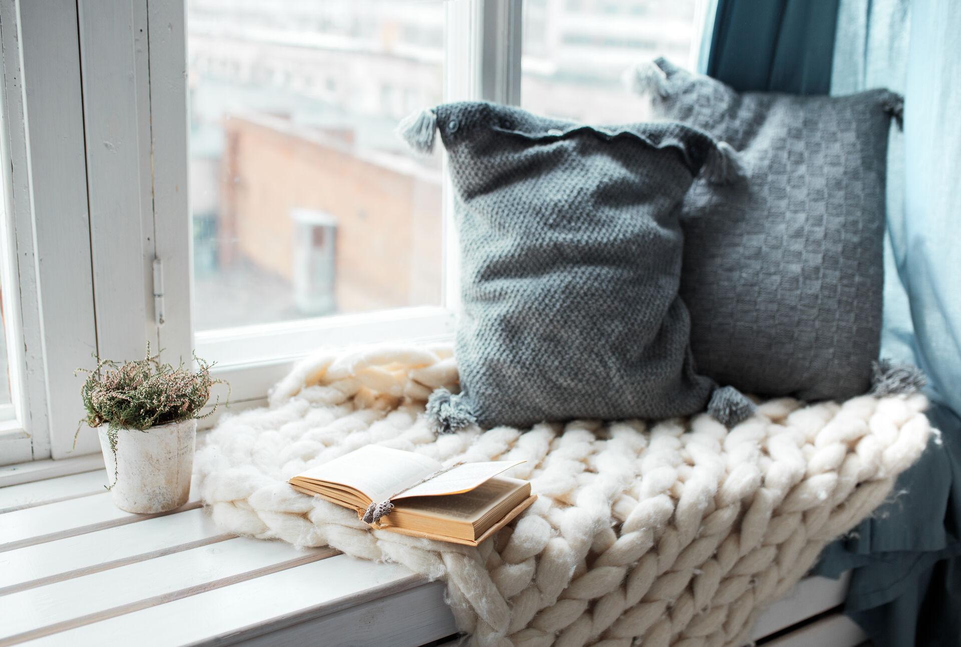 Gemütlich zu Hause - 10 Dinge gegen Langeweile