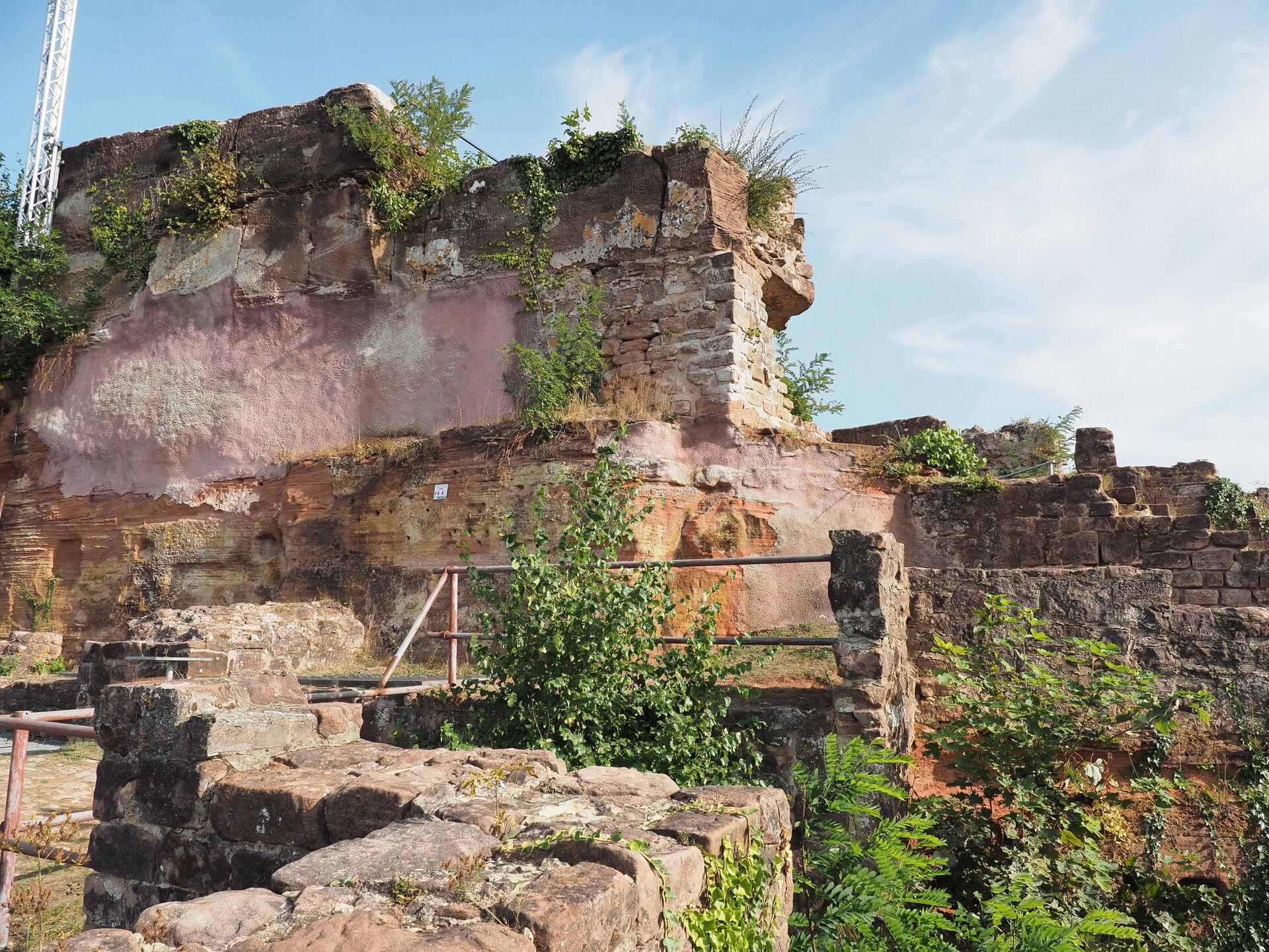 Wandern auf der Schlossbergtour