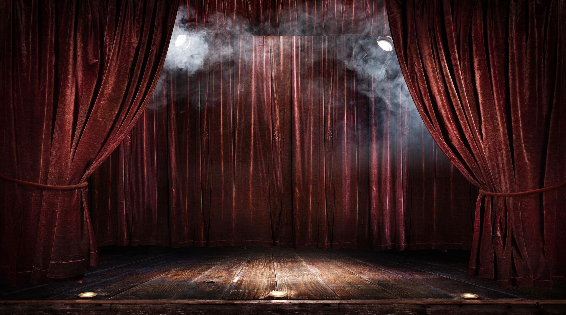 Theaterbühne - Kultur im Netz
