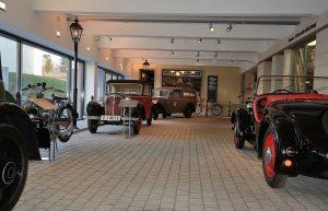 Exponate im August Horch Museum
