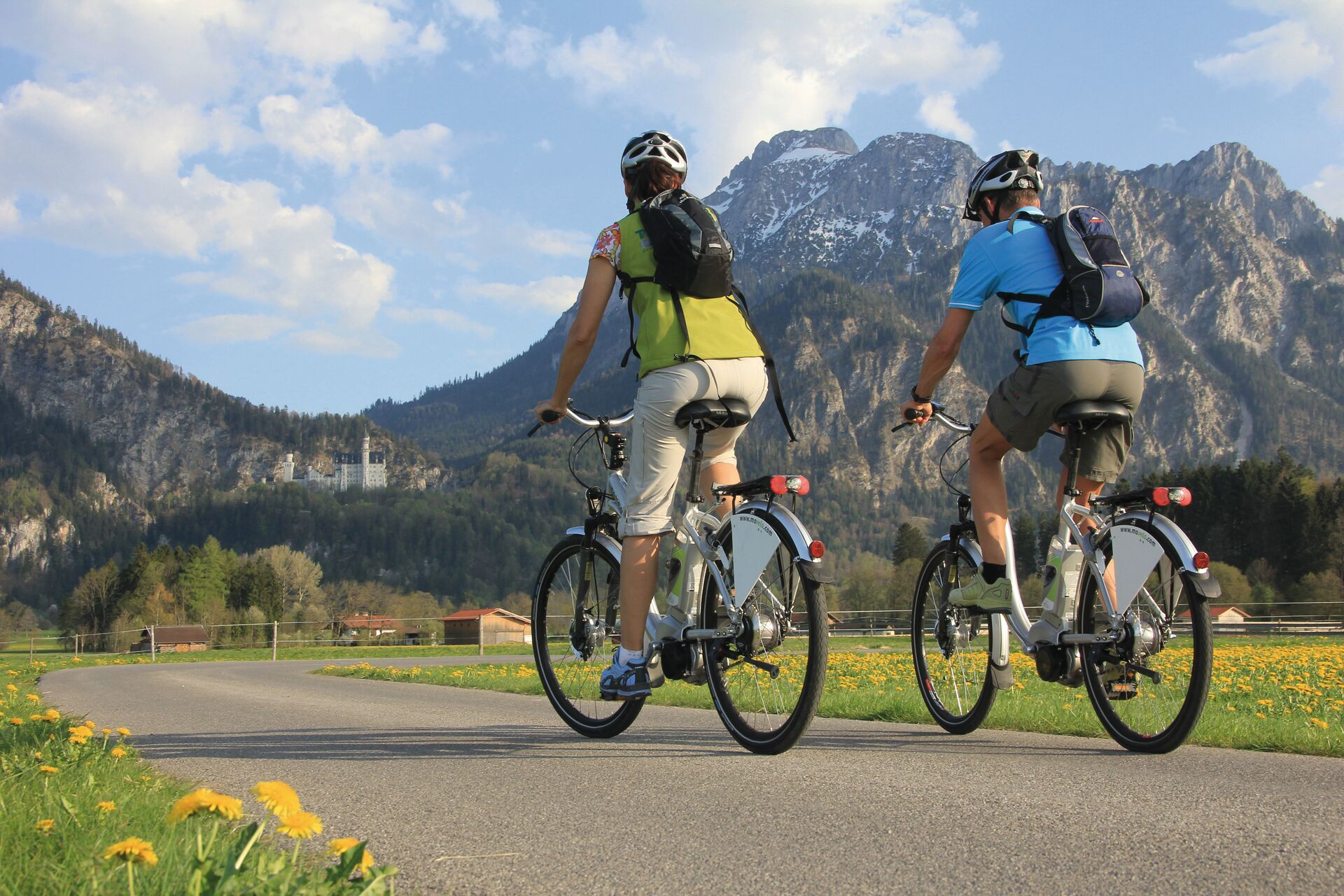 Radfahren in Füssen - Via Claudia Augusta