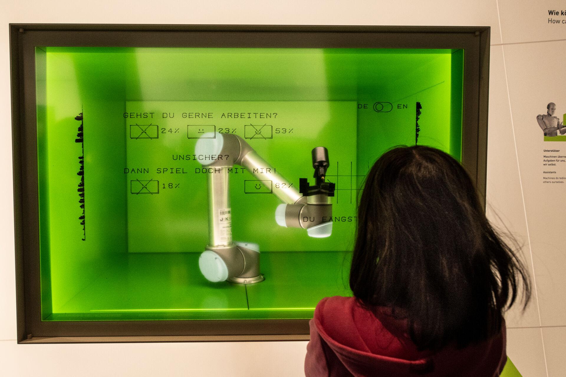 Ausstellung Denkraum Technik, Futurium