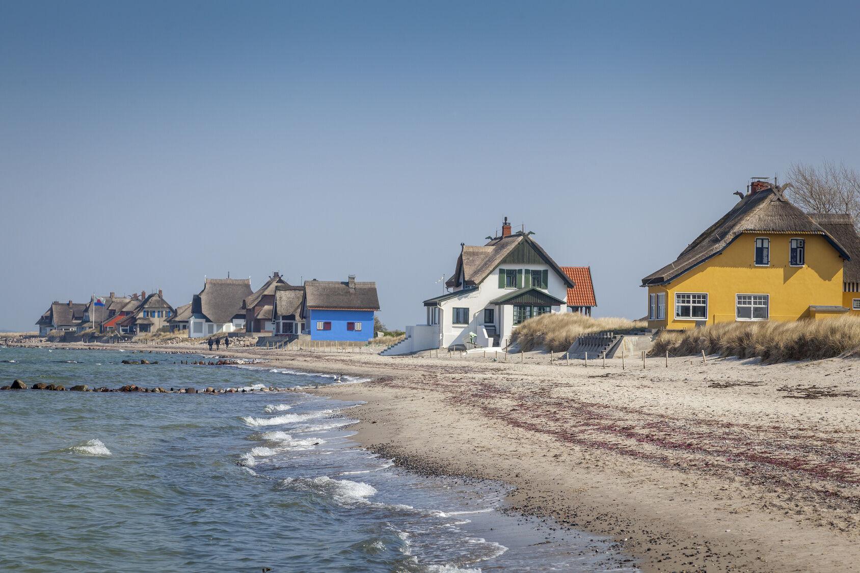 Ferienhaus am Strand der Ostsee in Heiligenhafen,Schleswig-Holstein,Deutschland
