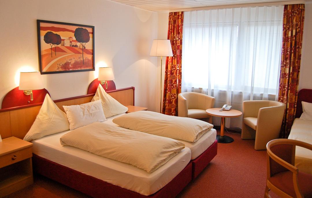 Zimmeransicht Hotel Hansa