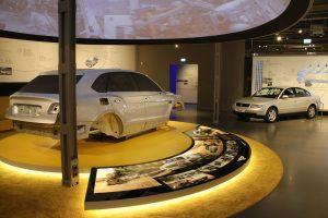 Blick in die Ausstellung im Kontorgebäude - August Horch Museum