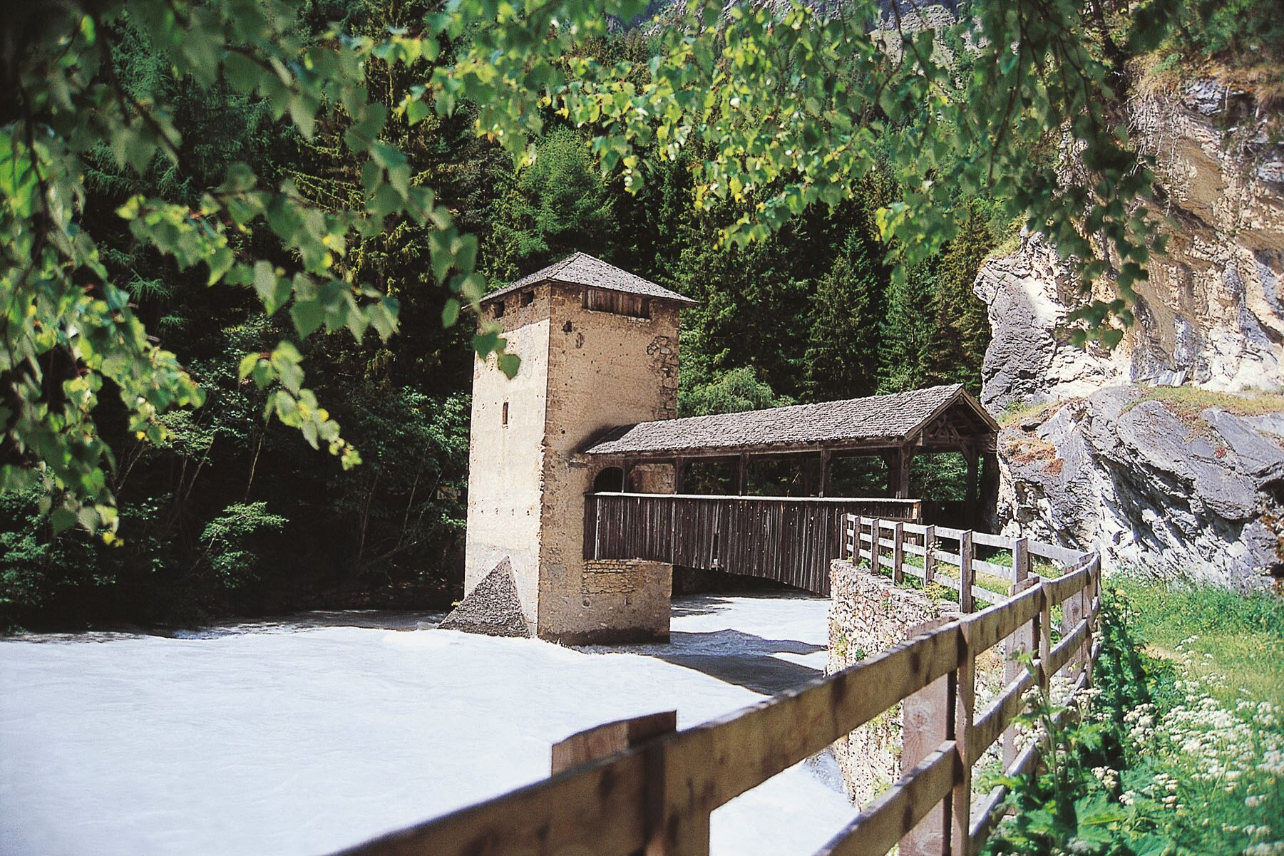 Zollstation Altfinstermünz, Tirol - Via Claudia Augusta